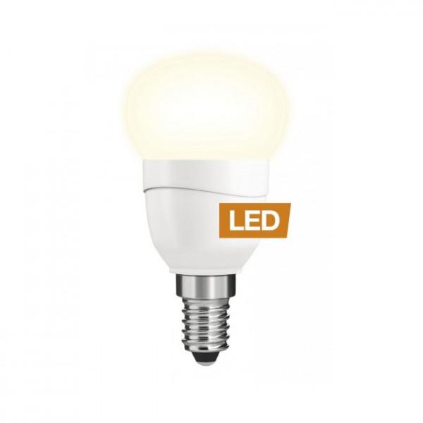 LEDON LED Tropfen, P45, 5W, E14, nicht dimmbar
