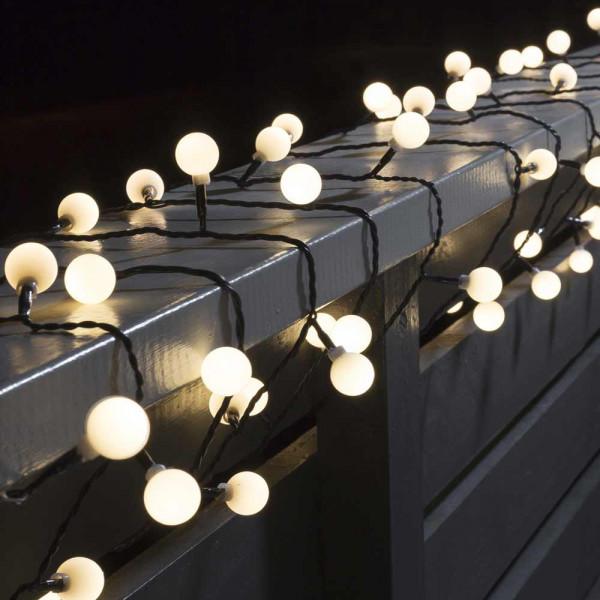 Konstsmide LED-Lichterkette 1132 cm lang 80 LEDs schwarz ambient